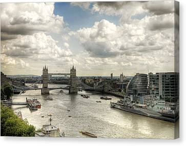 Tower View Canvas Print by Gregory Warran