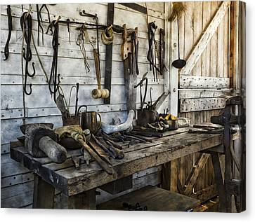 Trade Tools Canvas Print by Peter Chilelli