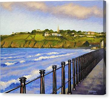 Tramore County Waterford Canvas Print by John  Nolan
