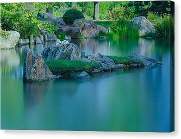 Tranquil Island Canvas Print by Jonah  Anderson