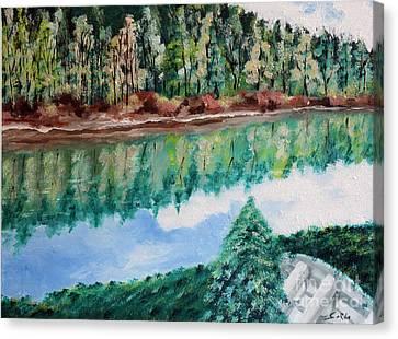 Tranquility Canvas Print by Seth Corda