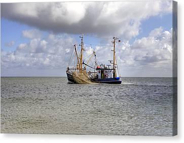 trawler - Sylt Canvas Print by Joana Kruse