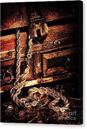 Treasure Box Canvas Print by HD Connelly