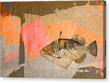 Tropical Dream Number 2 Canvas Print by Carol Leigh