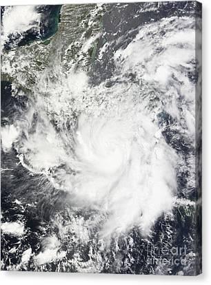 Tropical Storm Alma Canvas Print by Stocktrek Images
