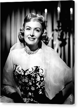 Trouble Along The Way, Donna Reed, 1953 Canvas Print by Everett