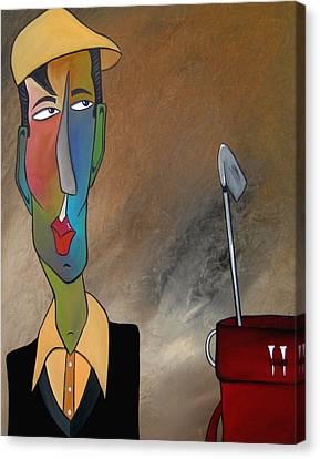 Trouble Club Canvas Print by Tom Fedro - Fidostudio
