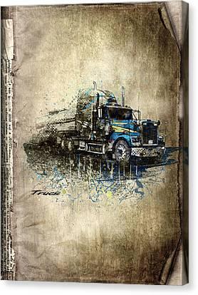 Truck Canvas Print by Svetlana Sewell