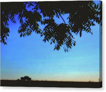 Truckin' Canvas Print by Molly McPherson