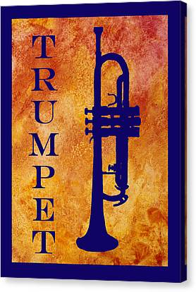 Trumpet Canvas Print by Jenny Armitage