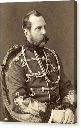 Tsar Alexander II 1818-1881, Emperor Canvas Print by Everett