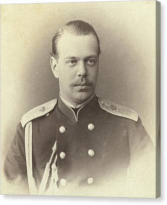 Tsar Alexander IIi Alexandrovich Canvas Print by Everett
