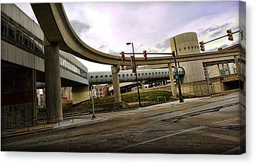 Tube Track Road Canvas Print by Gordon Dean II