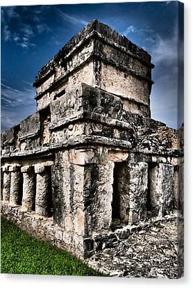 Tulum Ruinas 1 Canvas Print by Skip Hunt