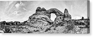 Turret Pano Canvas Print by Chad Dutson