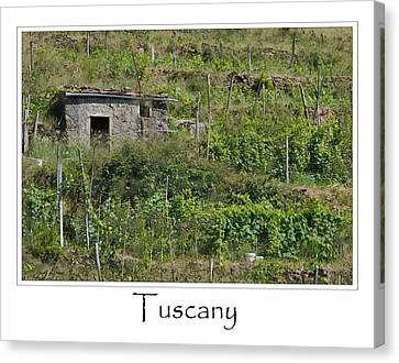 Tuscany Italy Canvas Print by Brandon Bourdages