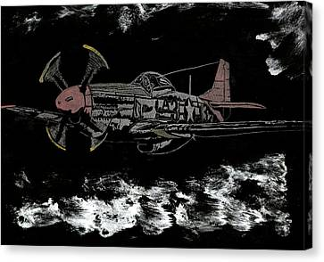 Tuskegee Night Flight Canvas Print by Jim Ross