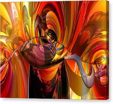 Twisted Jester Fx  Canvas Print by G Adam Orosco