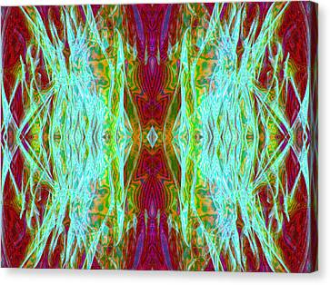 Two Fish Canvas Print by Danny Lally