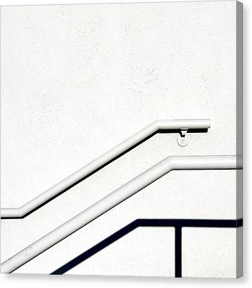 Two Rails Canvas Print by CML Brown