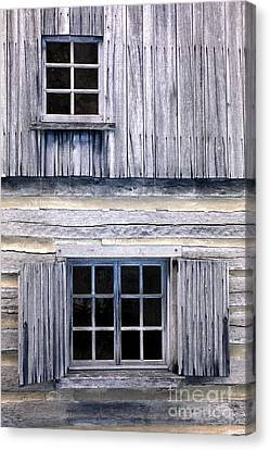Two Windows Canvas Print by Paul W Faust -  Impressions of Light