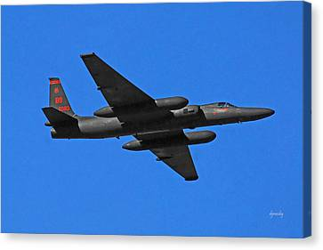 U-2 Flyover 3394 Canvas Print by David Mosby