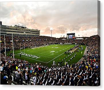 Uconn Rentschler Field Canvas Print by University of Connecticut