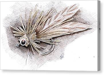 Ugly Bug Canvas Print by H C Denney