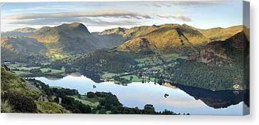 Ullswater From Place Fell Canvas Print by Stewart Smith
