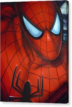 Ultimate Spider Canvas Print by Beto Machado