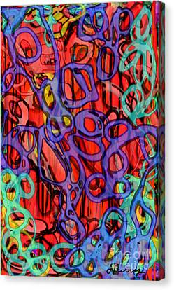Uncertainty Canvas Print by D Perry