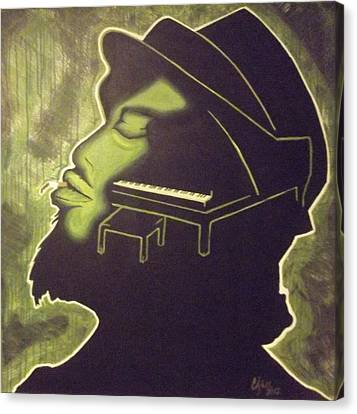 Under The Influence Canvas Print by Clyde Stallworth Jr