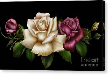 Unity Canvas Print by Cheryl Young