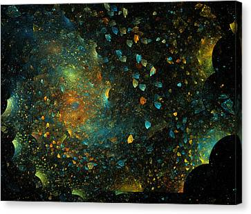 Universal Minds Canvas Print by Betsy C Knapp