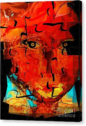 Unlock The Spirit Canvas Print by Fania Simon