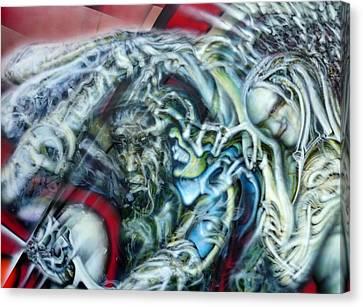Unspoken Canvas Print by David Frantz