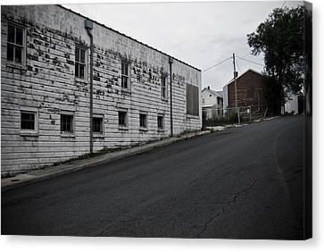 Uphill Canvas Print by Michael Cunsolo