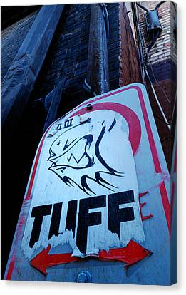Urban Cover-up Canvas Print by Steven Milner