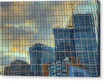 Urban Reflections Canvas Print by Drew Castelhano