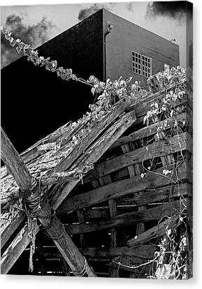 Urban Shipwreck Canvas Print by James Rasmusson