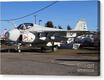 Us Fighter Jet Plane . 7d11238 Canvas Print by Wingsdomain Art and Photography