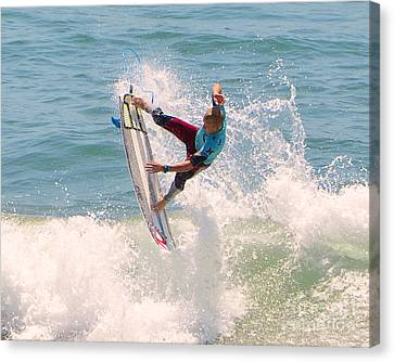 Us Open Of Surfing 2012   1 Canvas Print by Jason Waugh