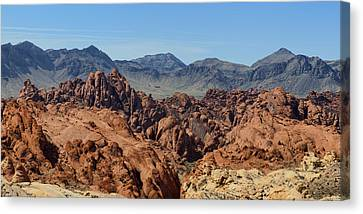 Valley Of Fire 2 Of 4 Canvas Print by Gregory Scott