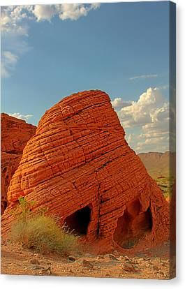Valley Of Fire Nevada - Beehives Canvas Print by Christine Till
