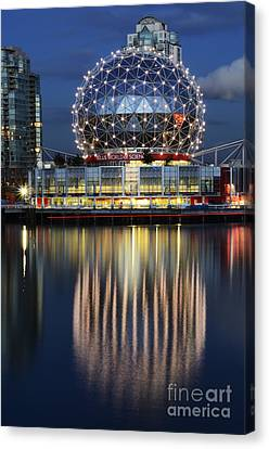 Vancouver British Columbia 1 Canvas Print by Bob Christopher