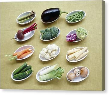 Vegetables Canvas Print by Veronique Leplat