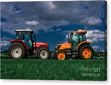 Vehicular Osculation Canvas Print by Warren Sarle