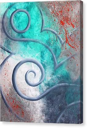 Venus Sky Canvas Print by Reina Cottier