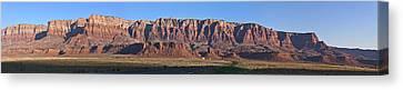 Vermillion Cliffs And Prairie Canvas Print by Gregory Scott