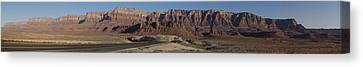 Vermillion Cliffs Near Marble Canyon Canvas Print by Gregory Scott